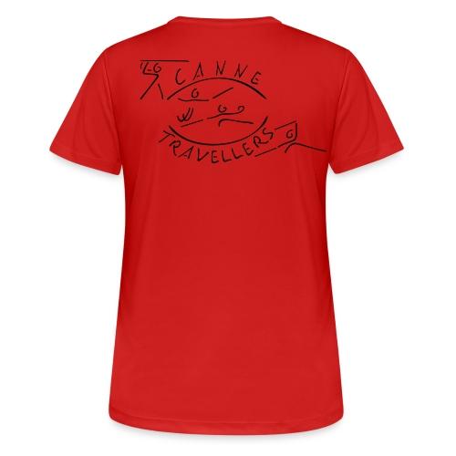 Funktionsshirt (Damen) nur Logo - Frauen T-Shirt atmungsaktiv