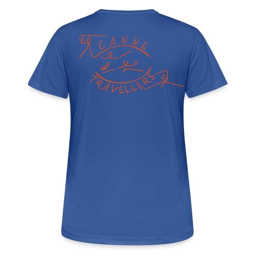 Funktionsshirt (Damen) mit eigenem Namen auf rechtem Arm - Frauen T-Shirt atmungsaktiv