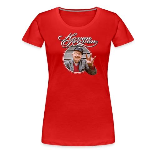 Red ladies tee with Turbo album art - Women's Premium T-Shirt