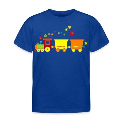 Colorful  Train - Kinder T-Shirt
