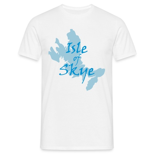 Isle of Skye Map & Full Text Tee - Men's T-Shirt
