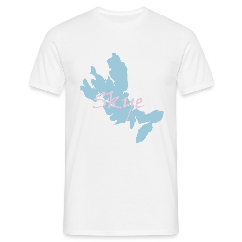 Skye Map & Text Tee - Men's T-Shirt