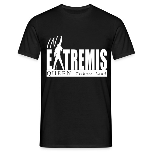 T-SHIRT noir homme IN EXTREMIS - T-shirt Homme