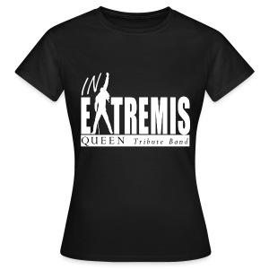 T-SHIRT noir femme IN EXTREMIS - T-shirt Femme
