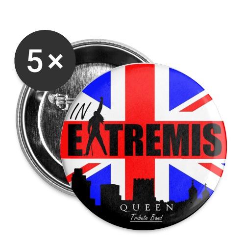Badge 32mm IN EXTREMIS - Badge moyen 32 mm
