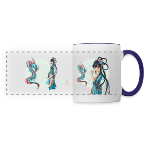 Blue Dragon mug - Panoramamok