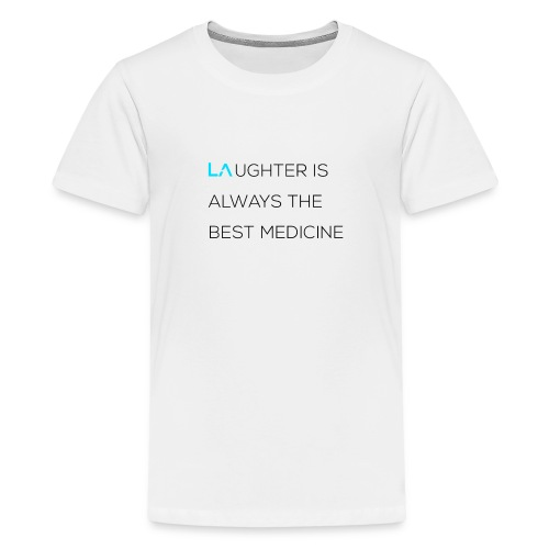 Legacy Alliance 'Laughter' T-Shirt - Teenage Premium T-Shirt