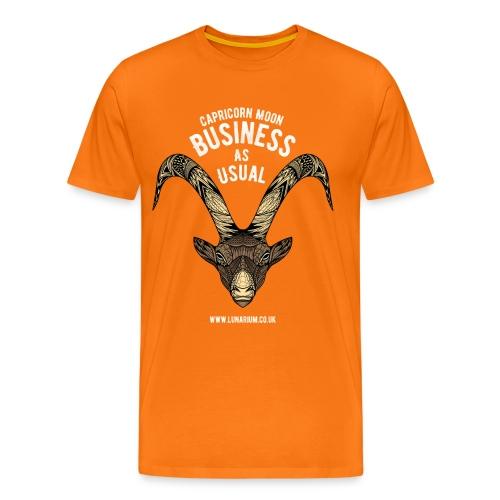 Capricorn Moon Men's Premium T-Shirt - Men's Premium T-Shirt