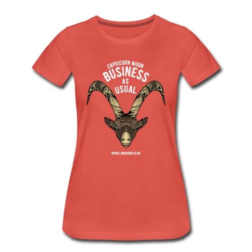 Capricorn Moon Women's Premium T-Shirt - Women's Premium T-Shirt