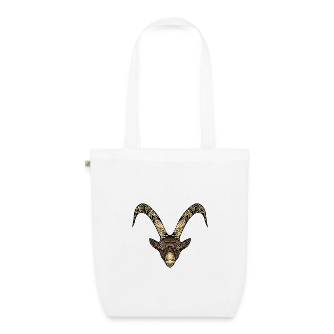 Capricorn Moon EarthPositive Tote Bag