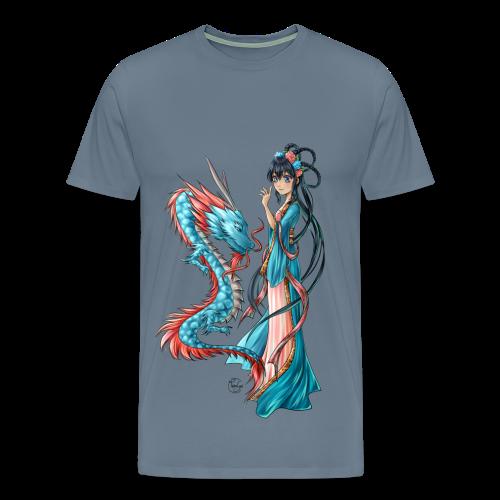 Blue Dragon T-shirt - T-shirt Premium Homme