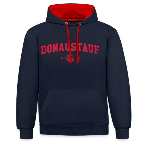 College Hoodie - Kontrast-Hoodie