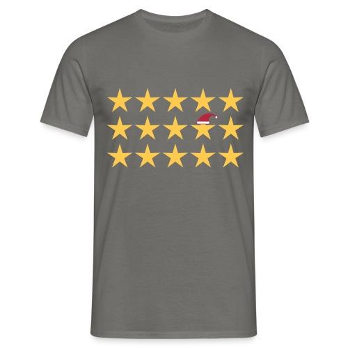 be different Sterne Weihnachten - Männer T-Shirt