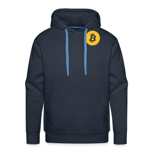 Bitcoin Hoodie - Men - Men's Premium Hoodie