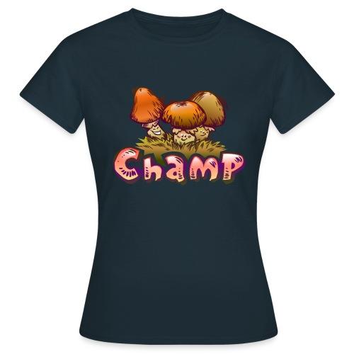 Herbst T-Shirt Lustige Herbstpilze - Frauen T-Shirt