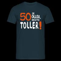 50. Geburtstag Männer T-Shirt - 50 Je oller...