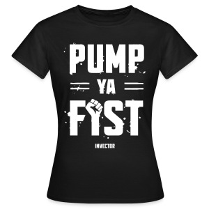 Invector - Pump Ya Fist T-Shirt - Vrouwen T-shirt