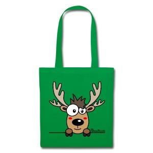 Sac, Tote bag, Baby Caribou, Renne, Noël - Tote Bag