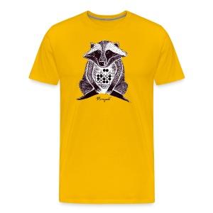 Raccoon Dog Tesuji - Men's Premium T-Shirt