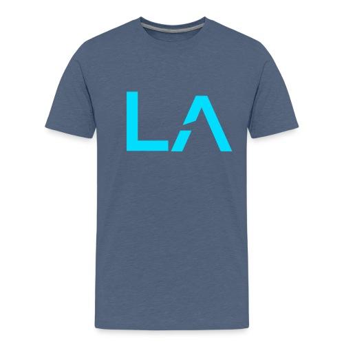 Short-Sleeved Logo  - Teenage Premium T-Shirt