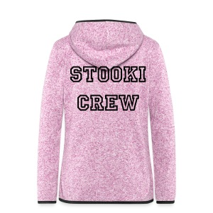 Stooki Crew | Hoodie Girls Edition! - Women's Hooded Fleece Jacket