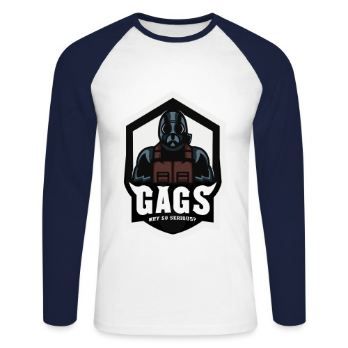 GAGS Men's baseball shirt design - Männer Baseballshirt langarm