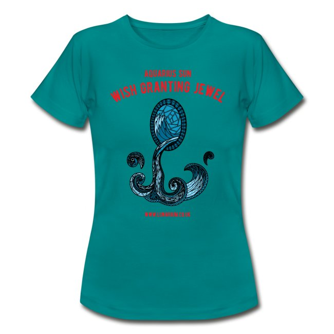 Aquarius Sun Women's T-Shirt