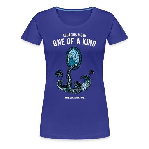 Aquarius Moon Women's Premium T-Shirt - Women's Premium T-Shirt