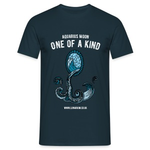 Aquarius Moon Men's T-Shirt - Men's T-Shirt