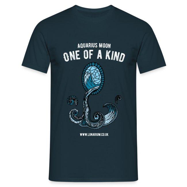 Aquarius Moon Men's T-Shirt