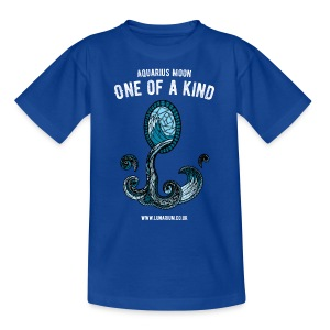 Aquarius Moon Kids' T-Shirt - Kids' T-Shirt