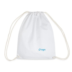 Gym Bag White - Drawstring Bag