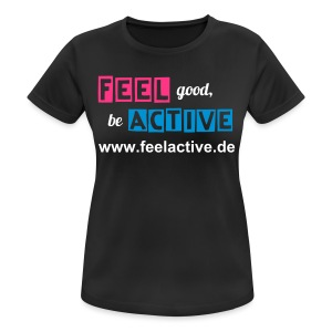 FeelActive Team-Shirt - Women - Frauen T-Shirt atmungsaktiv