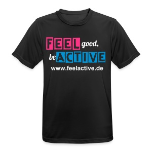 FeelActive Team-Shirt - Men - Männer T-Shirt atmungsaktiv