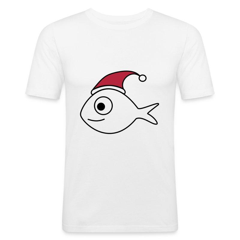 weihnachtsfisch weihnachten fisch t shirt spreadshirt. Black Bedroom Furniture Sets. Home Design Ideas