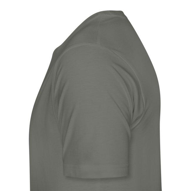 Weathered Crest White Logo Tee