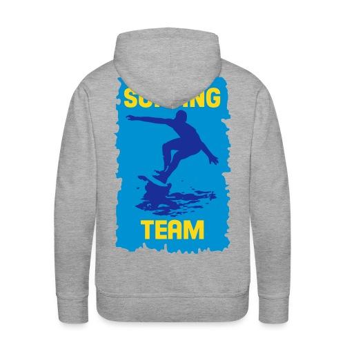 Surfing Team - Men's Premium Hoodie