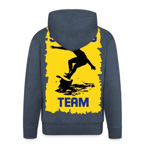 Surfing Team - Men's Premium Hooded Jacket