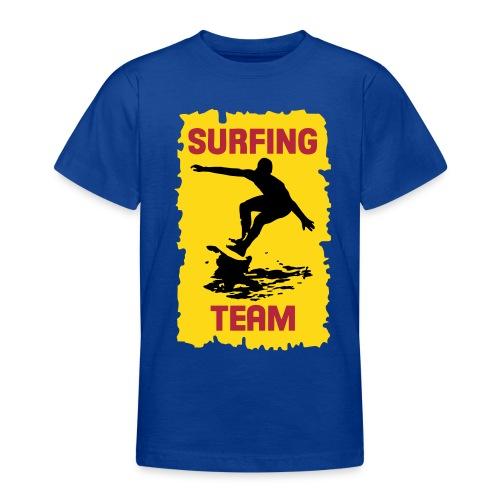 Surfing Team - Teenage T-Shirt