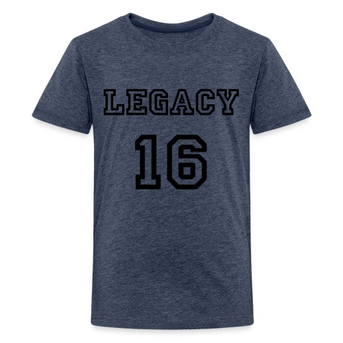 Legacy 16 Short-Sleeved Tee - Teenage Premium T-Shirt