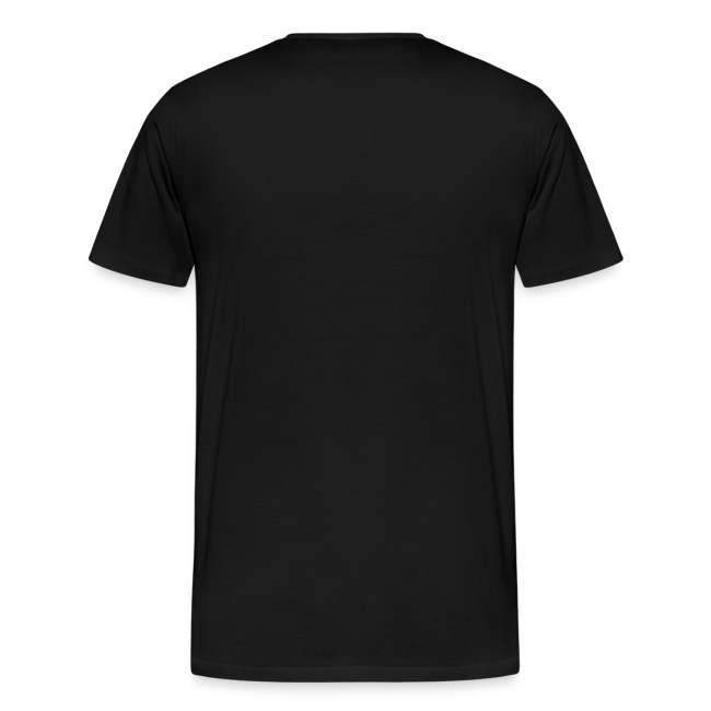 - Herre premium T-shirt