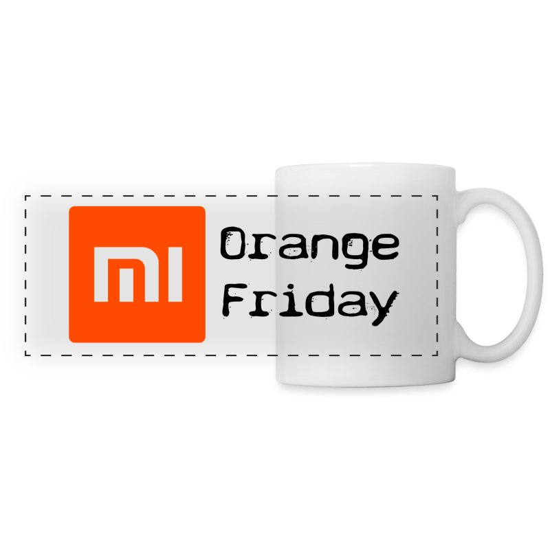 Orange Friday - Tasse  - Panoramatasse