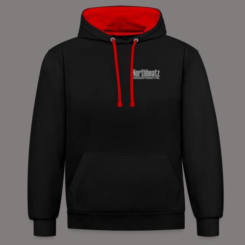 Northbetz Digital Logo - Kontrast-Hoodie