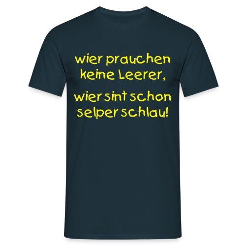 T-Shirt für Bildungsdemos! - Männer T-Shirt