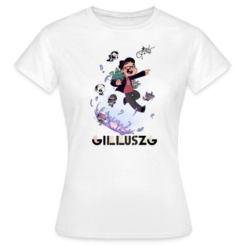 NEW GILLUSZG t-shirt femme - T-shirt Femme