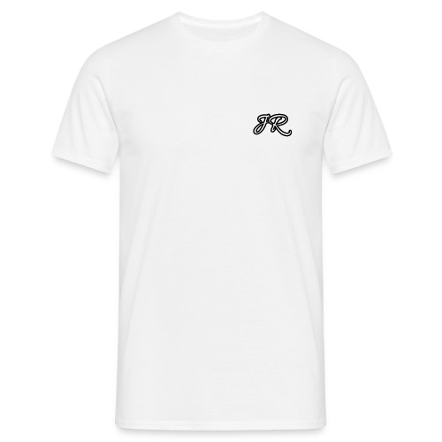 JR Logo White Mens T-Shirt - Men's T-Shirt