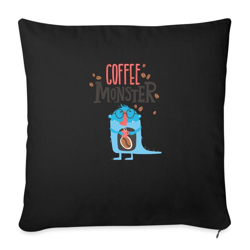 Copricuscino per divano con caff monster dipendenza da - Copricuscino per divano ...