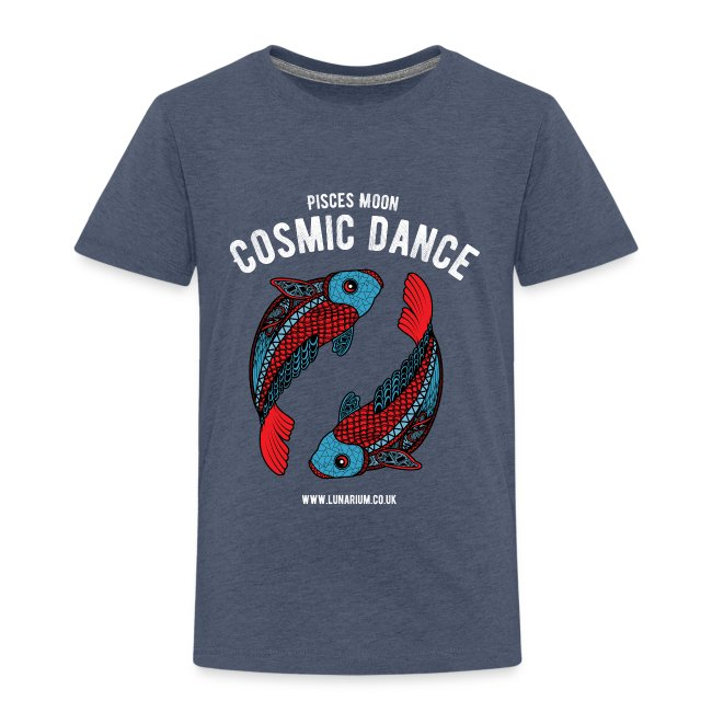Pisces Moon Kids' Premium T-Shirt