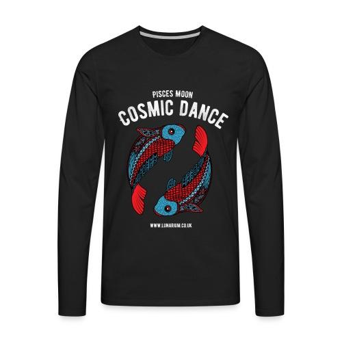 Pisces Moon Men's Premium Longsleeve Shirt - Men's Premium Longsleeve Shirt