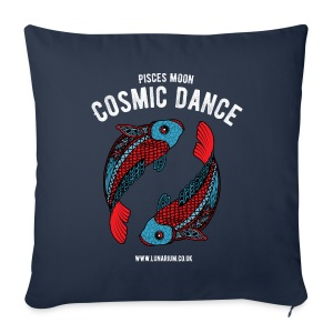 Pisces Moon Sofa pillow cover 44 x 44 cm - Sofa pillow cover 44 x 44 cm